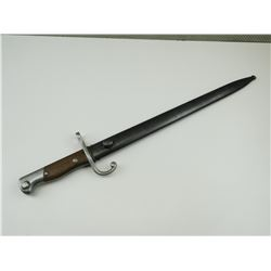 ARGENTINIA 1909 MAUSER BAYONET WITH SCABBARD