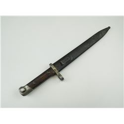HUNGARIAN M 1895 RIFLE BAYONET WITH SCABBARD