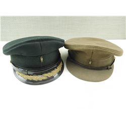 ASSORTED OFFICERS CAPS