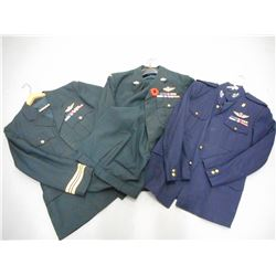 ASSORTED CANADIAN MILITARY COATS AND PANTS