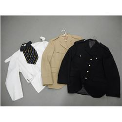 ASSORTED MILITARY COATS