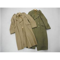 WWII CANADIAN WOOL COATS