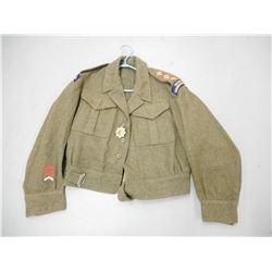 WWII CANADIAN BATTLE DRESS