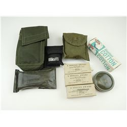 MILITARY FIRST AID KIT AND ACCESSORIES