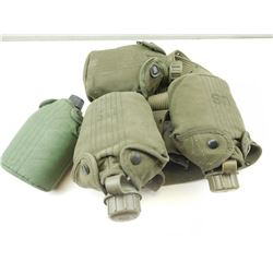 US MILITARY WATER CANISTER BELT WITH CANISTERS AND AMMO BELT