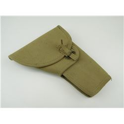 WWII CANADIAN CANVAS HOLSTER WITH CLEANING ROD