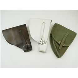 ASSORTED MILITARY HOLSTERS FOR BROWNING 1922