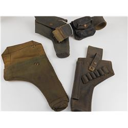 WWII MILITARY P37 BELTS AND HOLSTERS