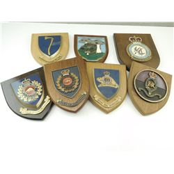 ASSORTED CANADIAN PLAQUES