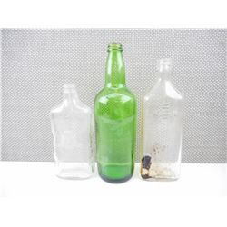 ASSORTED WWII GERMAN GLASS BOTTLES