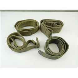 ASSORTED MILITARY WEBBING