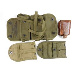 ASSORTED US MILITARY POUCHES