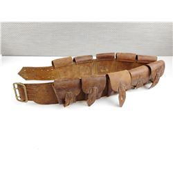 LEE ENFIELD 303 CANADIAN LEATHER BANDOLIER