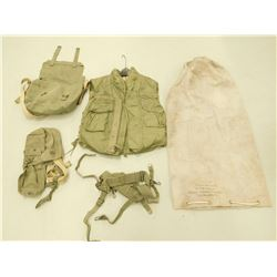 ASSORTED MILITARY CANVAS POUCHES