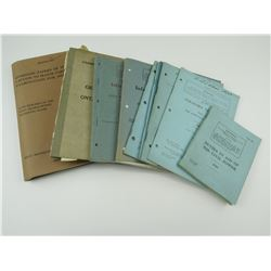 ASSORTED INFANTRY TRAINING BOOKS