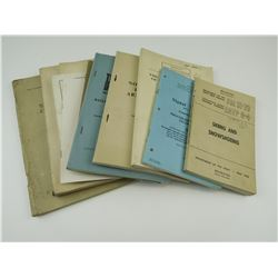 ASSORTED CANADIAN MILITARY TRAINING BOOKS