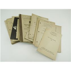 ASSORTED CANADIAN MILITARY FIRST AID BOOKS