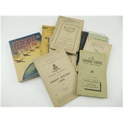 ASSORTED CANADIAN MILITARY VEHICLE/TRANSPORTATION TRAINING BOOKS