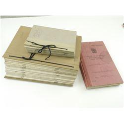 ASSORTED FIELD TRAINING BOOKS