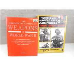 WWII ASSORTED WEAPONS BOOKS