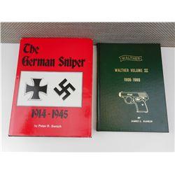 ASSOTED MILITARY GUN BOOKS