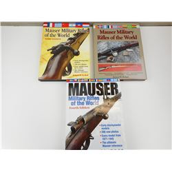 MAUSER MILITARY RIFLES BOOKS