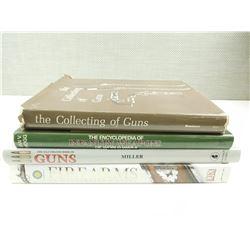 ASSORTED MILITARY TYPE GUN BOOKS