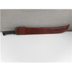 PROMEDOCA MACHETE WITH LEATHER SHEATH