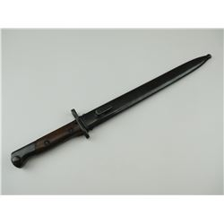 SIMPSON & CO SUHL BAYONET WITH METAL SCABBARD