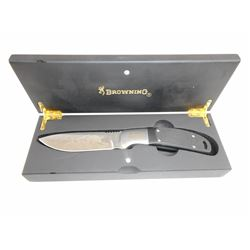 BROWNING FIXED BLADE KNIFE WITH BOX