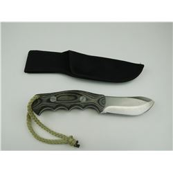 SKINNING TYPE KNIFE WITH SHEATH