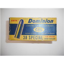 DOMINION 38 SPECIAL AMMO