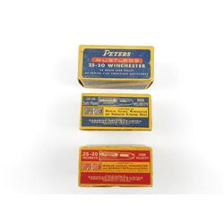 .25-20 ASSORTED AMMO