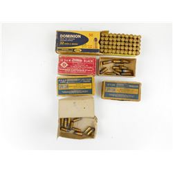 32 S & W AMMO, VINTAGE BOXES