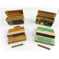222 REM AMMO, BRASS CASES, 25-25 STEVENS BRASS CASES