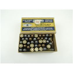CIL COLT 38 CAL AUTOMATIC PISTOL AMMO