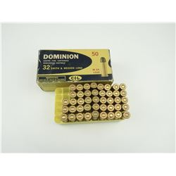 DOMINION 32 SMITH & WESSON LONG AMMO