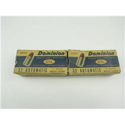 DOMINION 32 AUTOMATIC AMMO