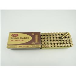 CIL 38 SPECIAL MATCH AMMO