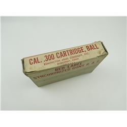REMINGTON .300 CAL BALL AMMO