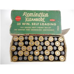 REMINGTON 35 WINCHESTER SELF LOADING AMMO
