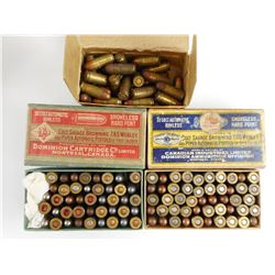 32 COLT AUTO ASSORTED AMMO