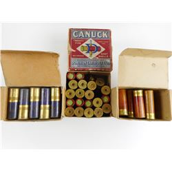 "12 GA 2 3/4"" ASSORTED SHOTGUN AMMO"