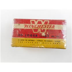 WINCHESTER 30 LUGER (7.65MM) AMMO