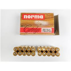 NORMA 280 REM AMMO