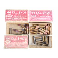 CIL 44 I.X.L. SHOT BLACK POWDER AMMO