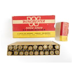 WINCHESTER SUPER SPEED 25 REMINGTON AMMO