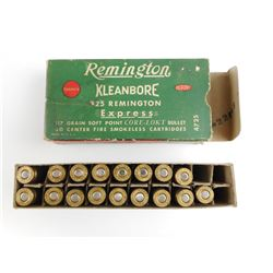 REMINGTON 25 REM EXPRESS AMMO