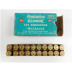 REMINGTON 244 REM AMMO