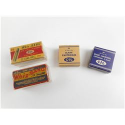 1950 22 LR WHIZ BAND, 22 LR 1956 WHIZ BANG, 22 BLANK CARTRIDGES